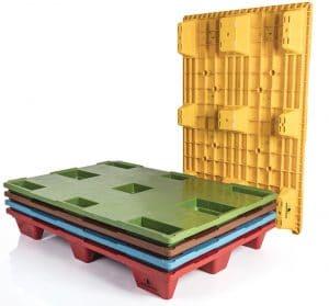 Pallet encajable REP 1200x800 liso 9 pies - Personalización | Ribawood