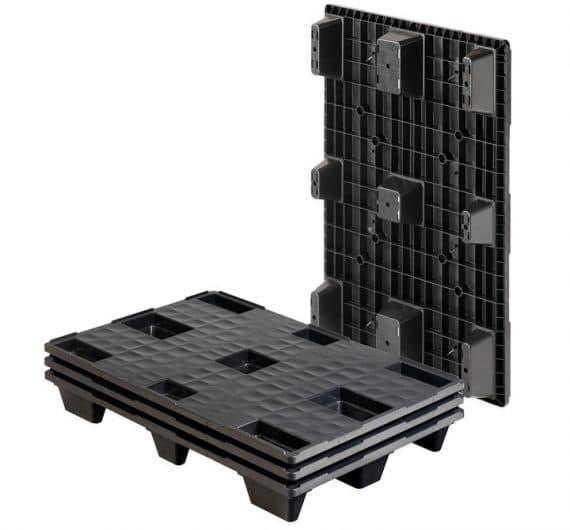 Pallet encajable REP 1200x800 liso 9 pies - Palet   Ribawood