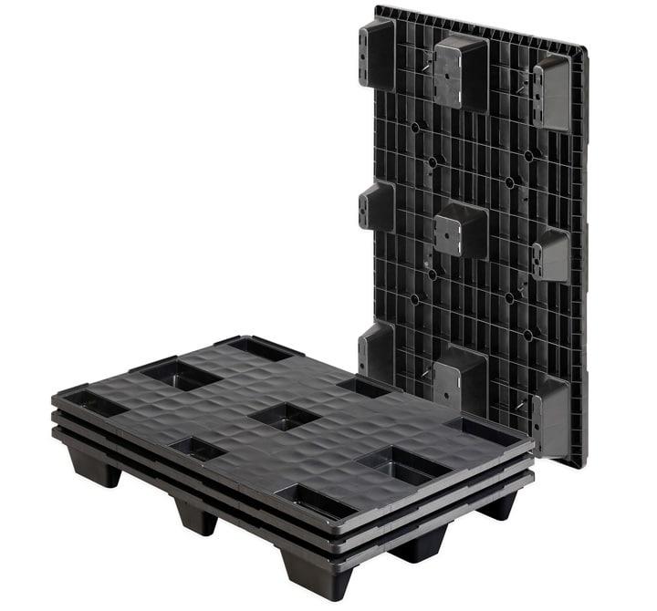 Pallet encajable REP 1200x800 liso 9 pies - Palet | Ribawood
