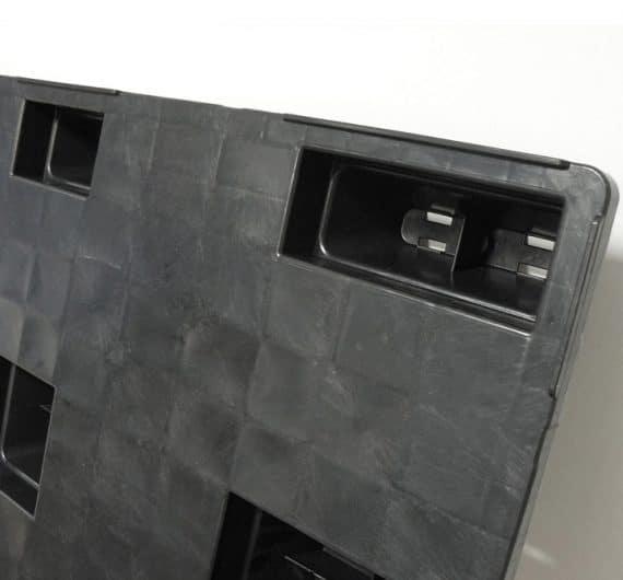 Pallet encajable REP 1200x800 liso 9 pies - Pata encajable   Ribawood