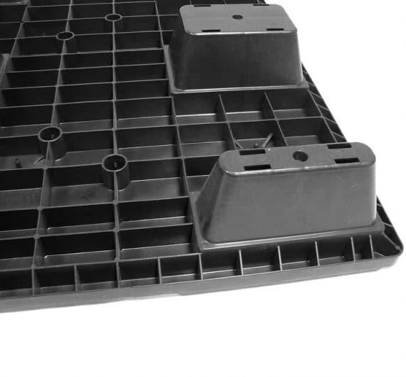 Pallet encajable REP 1200x800 liso 9 pies - Pies | Ribawood