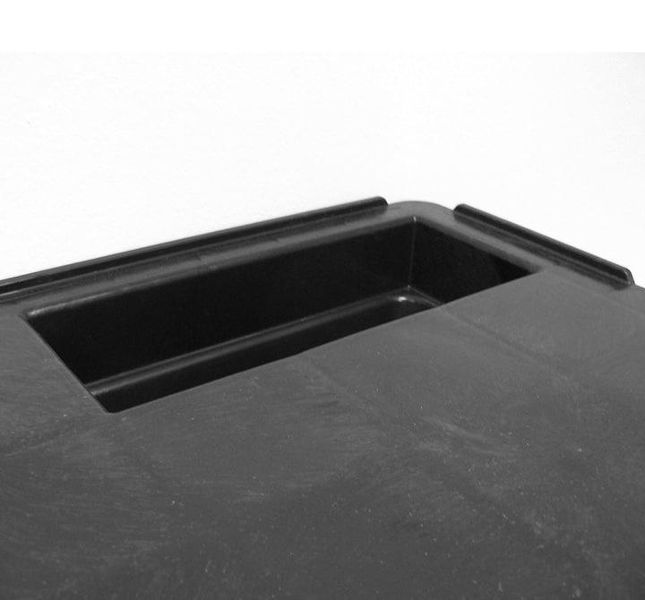Pallet encajable REP 1200x800 liso 9 pies - Perímetro | Ribawood