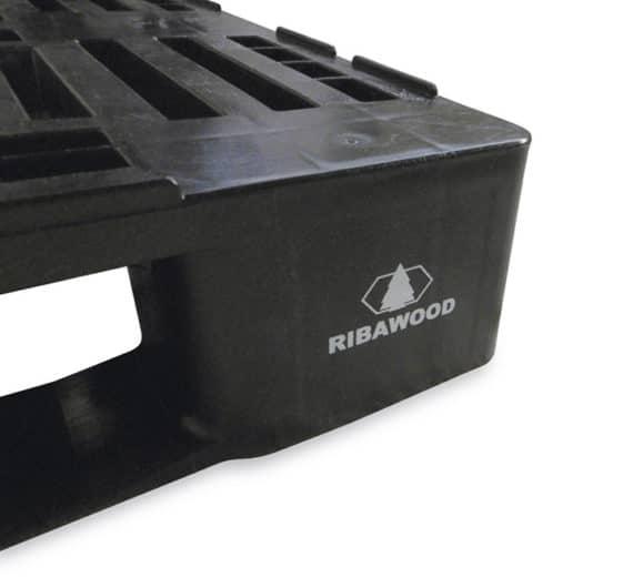 Pallet tipo H1 1200x800 3P PERFORADO reciclado l Serigrafía