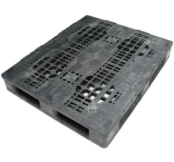Palet RBP 1200x1000 PERFORADO 6 patines superficie deck