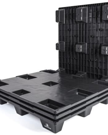 Palé REP 1200x1000 9P LISO negro-Ribawood
