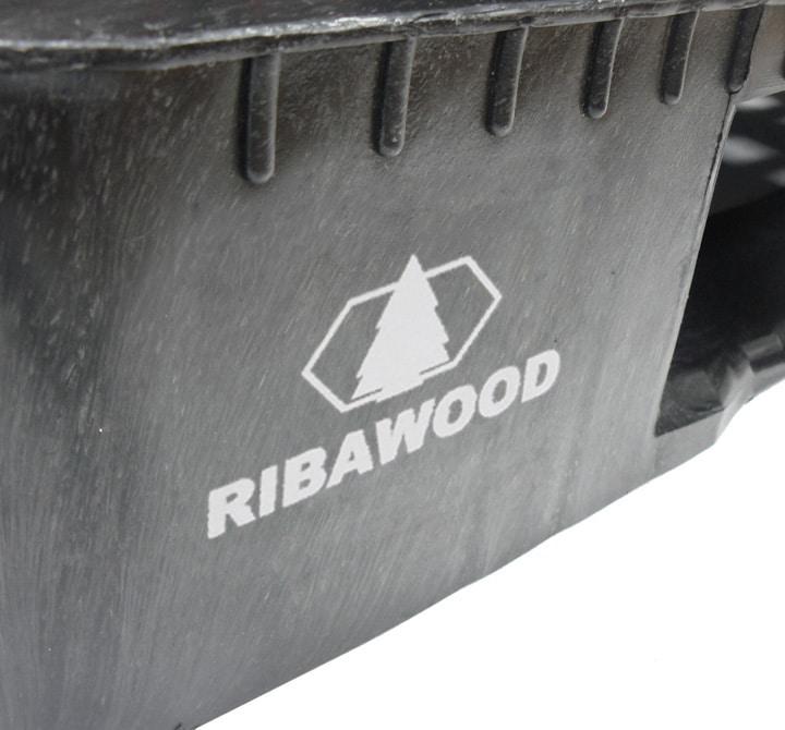 Palet RGP 1200x800 semi liso 5PATINES antracita personalización Ribawood