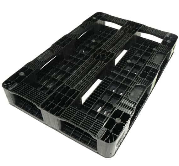 Palet RGP 1200x800 semi liso 5PATINES antracita patines Ribawood