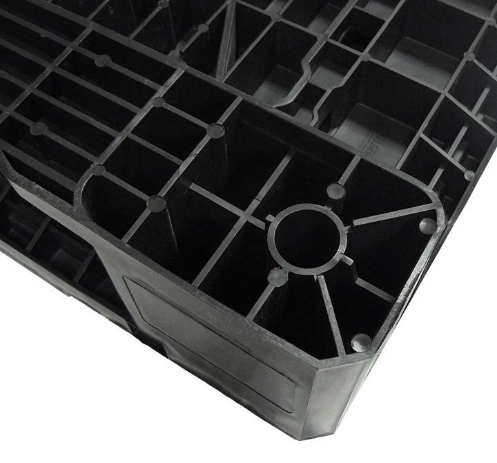 Palet RGP 800x600 LISO 2PATINES antracita posibilidad tacos Ribawood