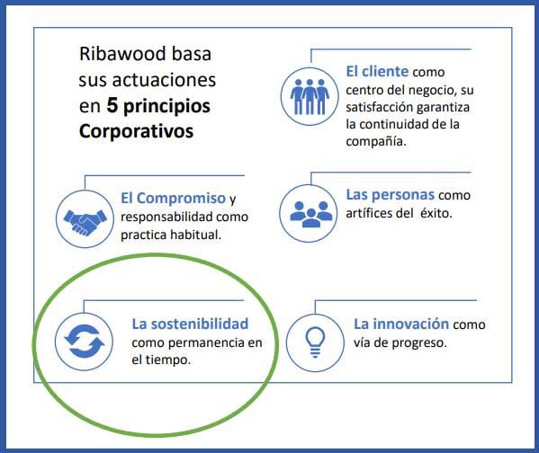 La economía circular-Principio corporativo de Ribawood